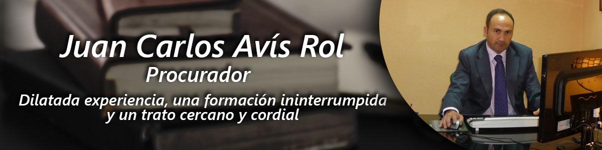Procurador Juan Carlos Avís Rol