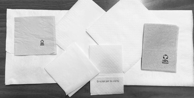 servilletas de papel cáceres