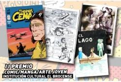 """CHECHU RAMIREZ JIMENEZ, CON SU OBRA """"THOMAS CENA"""", GANADOR DEL II PREMIO COMIC/MANGA/ARTE JOVEN."""