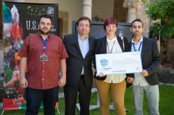 Entregados los premios Expertemprende a seis proyectos empresariales de jóvenes estudiantes extremeños de FP.