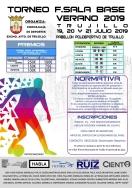 Torneo futbol sala base verano 2019
