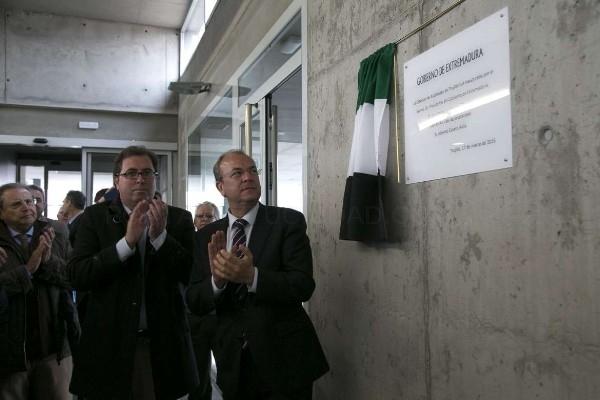 El presidente Monago inaugura la estación de autobuses de Trujillo