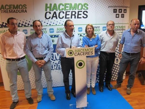 Laureano León da por perdida la Diputación de Cáceres para el PP