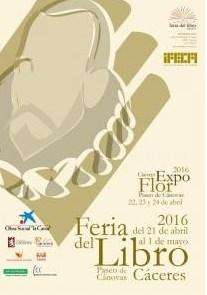 La XVII Feria del Libro de Cáceres se celebrará del 21 de abril al 1 de mayo