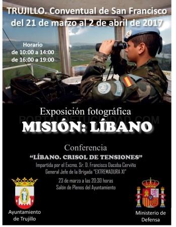 """Inauguración Exposición """"Misión: Líbano"""""""