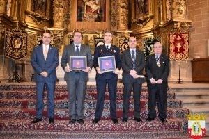 Reconocimiento de la Junta de de Cofradías y Hermandades Penitenciales de la ciudad