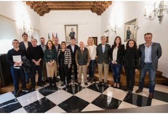 """La Diputación destaca el trabajo de las DOP e IGP en la """"internacionalización y promoción"""" de la región."""