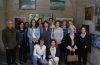 La asociación cultural Trujillo Pinta expone sus obras en los bajos del Palacio de la Conquista.