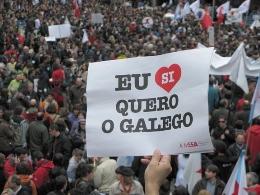 Manifestación do 17M de Queremos Galego