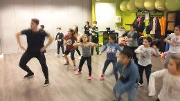 Campamento infantil de danzas urbanas