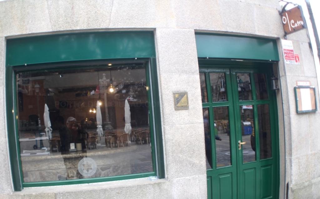 Restaurante O Catro, en Santiago de Compostela