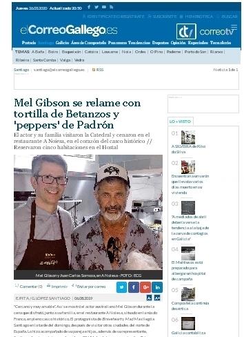 O Afiador, restaurante en Santiago de Compostela