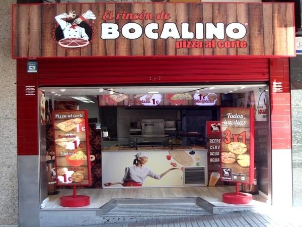 Pizzería Bocalino, en A Coruña, Santiago, Vigo y Pontevedra