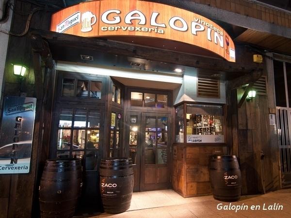 Galopín Cantina, en Santiago