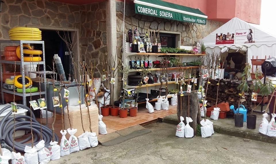 Comercial Soneira, piensos y material agrícola en Galicia