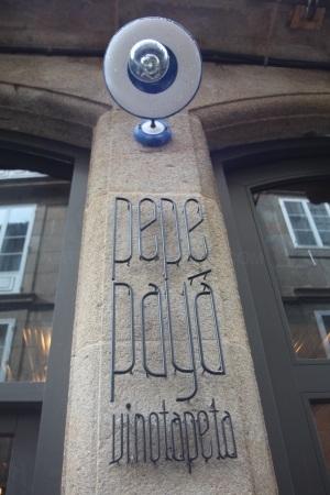 Pepe Payá, tapería y vinoteca en Santiago de Compostela