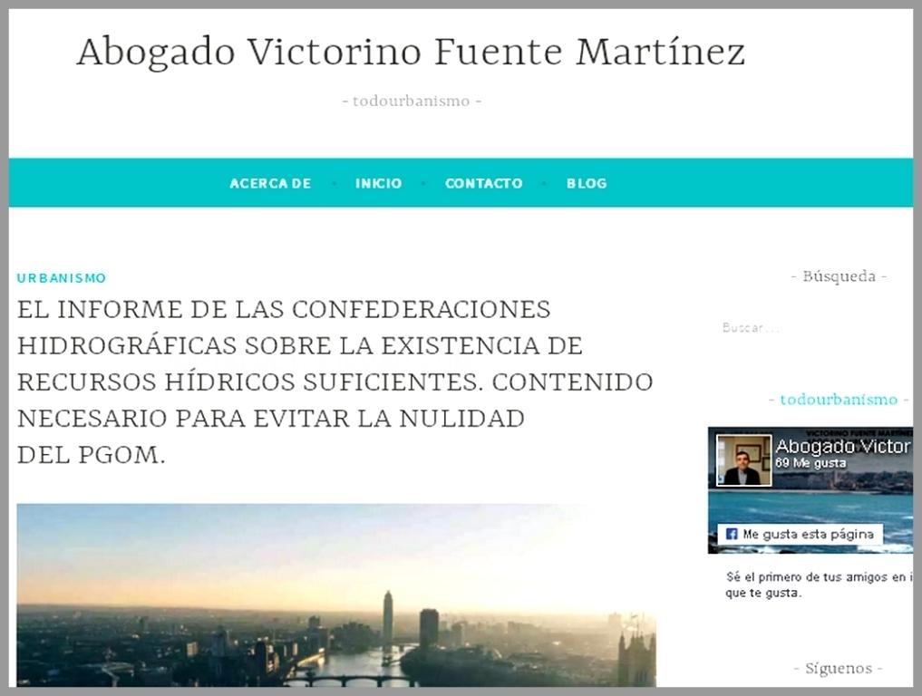 ABOGADO URBANISTA EN LALÍN, VICTORINO FUENTE