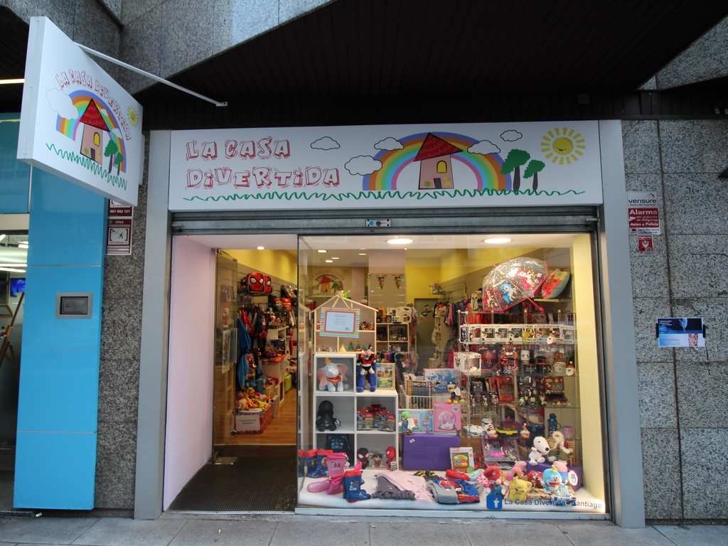 Tienda de licencias en Santiago, La Casa Divertida