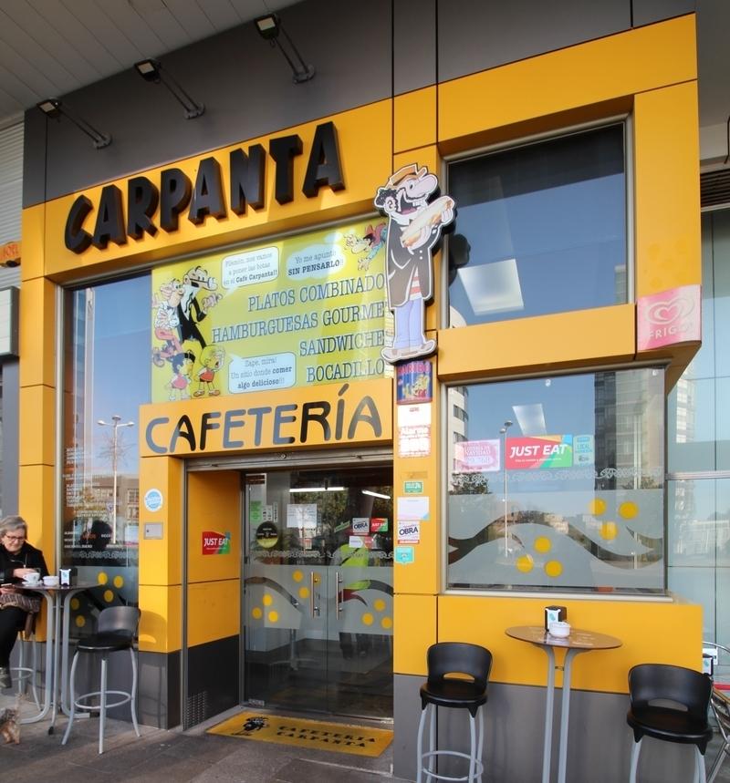 Hamburguesería en Santiago, Carpanta