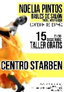 Taller gratuito de bailes de salón en Santiago de Compostela