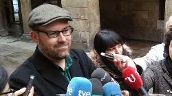 El alcalde de Santiago 'arranca' a Madrid la promesa de agilizar las infraestructuras