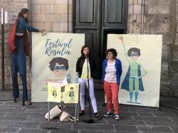Festival Rosalía, este sábado na praza de Cervantes