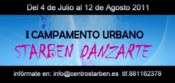 Primer campamento urbano Starben Danzarte en Santiago de Compostela