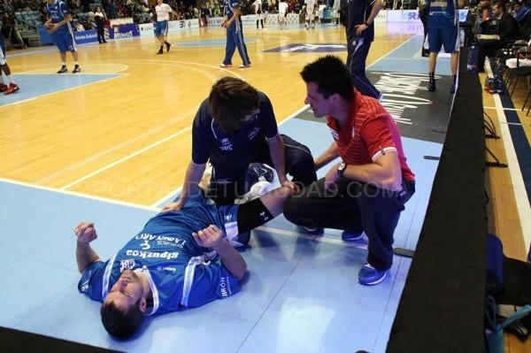 El fisioterapeuta del Blusens Monbus  debutó esta semana con la Selección Española Sub-15 en una concentración en Castelldefels