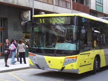 Hoxe o bus urbano será de balde
