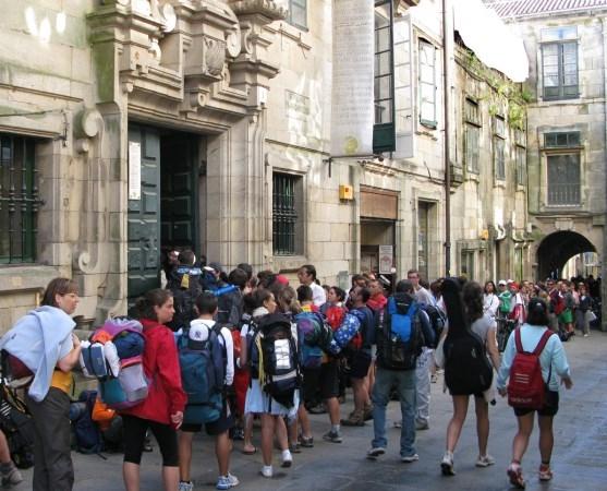 Plan para retener a los peregrinos más tiempo en Compostela
