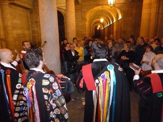 O espíritu 'troiano' reúne en Compostela a tunos de Europa e América