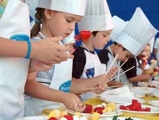 Curso de cociña creativa para nenos de entre 5 e 12 anos
