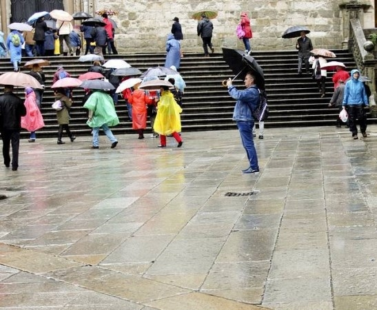 O 2015 pode converterse no ano máis seco dos últimos 30 en Santiago