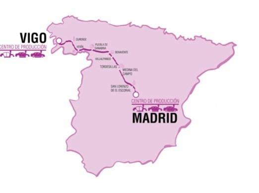 EL PRIMER COCHE AUTóNOMO VIAJA HOY DE VIGO A MADRID