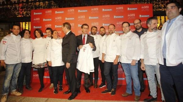 Galicia alcanza las trece estrellas Michelin