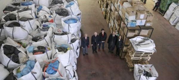 Cáritas crea en Santiago una empresa de reciclado textil
