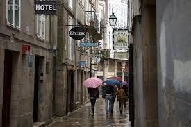 Galicia, en alerta por lluvia y viento