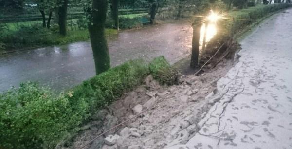 Operativo especial ante un fin de semana de fuertes lluvias y viento