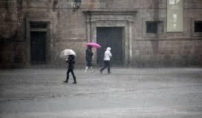 Continúan las lluvias en toda Galicia