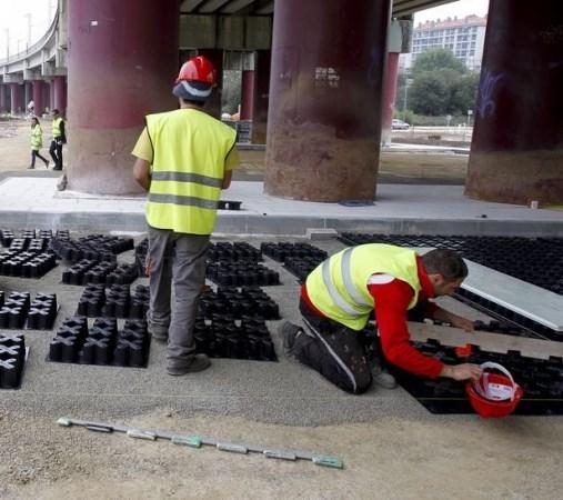 Santiago estrea hoxe mércores o estacionamento de Pontepedriña