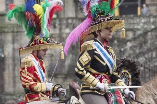 Esta semana os Xenerais da Ulla empiezan a recorrer la Comarca de Santiago