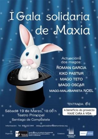 Gala solidaria de 'Tierra de Hombres' este sábado 19 de marzo en Santiago