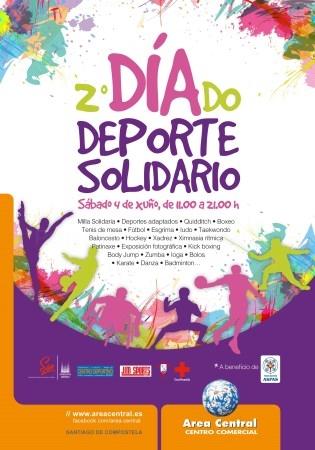 Día do Deporte Solidario en Santiago