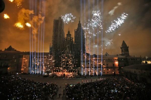 Los fuegos del Apóstol se repetirán tres días durante las fiestas