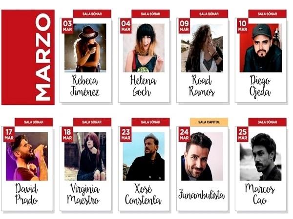 Máis de trinta concertos encherán Compostela no 'Santiautor 2017'