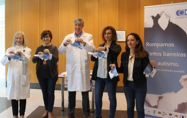 A Federación Autismo Galicia converte ó CHUS nun hospital modelo de atención as persoas con TEA