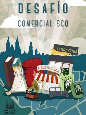 Desafío Comercial SCQ, unha aplicación para potenciar o comercio compostelán