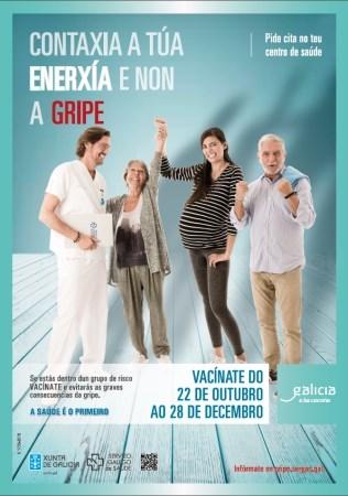 AMPLíASE A CAMPAñA DE VACINACIóN DA GRIPE