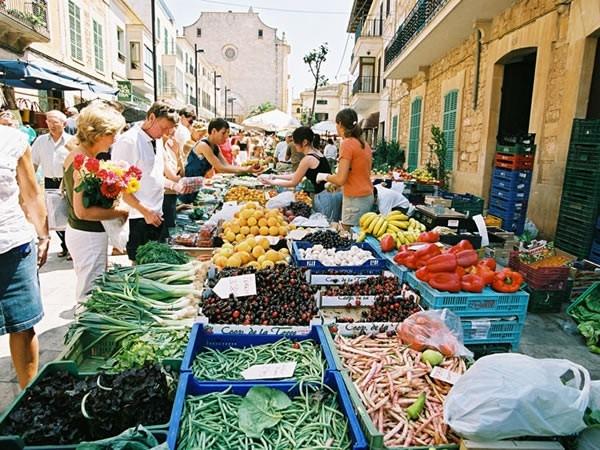 Mercats semanal a Mallorca