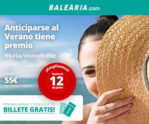 reserva tus vacaciones con Balearia